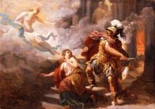 Елена, спасаемая Венерой от ярости Энея - Сабле, Жак