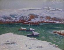 Снег в Доэлане - Море, Анри