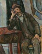 Мужчина, курящий трубку - Сезанн, Поль