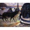 Сочельник, канун Рождества, 1894 - Гоген, Поль