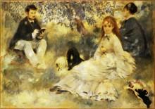 В саду - Ренуар, Пьер Огюст