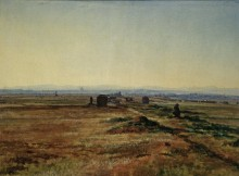 Аппиева дорога (Via Appia) при закате солнца - Иванов, Александр Андреевич