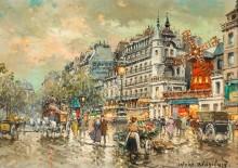 Мулен Руж на Монмартре в 1900 году - Бланшар, Антуан