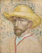 Автопортрет в соломенной шляпе (Self Portrait with Straw Hat), 1887 - Гог, Винсент ван