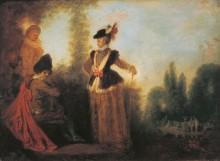 Авантюристка - Ватто, Жан Антуан