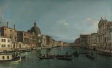 Венеция - Гранд-канал с Пикколо С. Симеоне - Каналетто (Джованни Антонио Каналь)