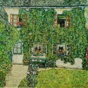 Дом в Вайсенбахе на озере Аттерзе - Климт, Густав