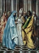 Бракосочетание Девы Марии - Греко, Эль