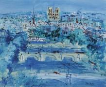Сена в Париже - Дюфи, Жан
