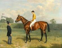 Ормонд - победитель дерби 1886 года - Адам, Эмиль