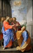 Христос вручает святому Петру ключи от рая - Рени, Гвидо