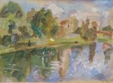 Плавание на лодке, 1935 - Фальк, Роберт