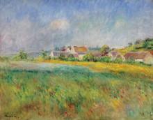 Деревня Бонкур - Ренуар, Пьер Огюст