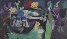Ночная рыбалка на Антибах - Пикассо, Пабло