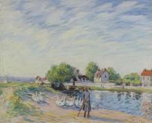 Гуси в Санкт-Maмме - Сислей, Альфред