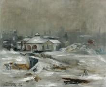 Железнодорожная станция Саокс, 1870 - Мане, Эдуард