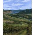 Пейзаж с виноградниками - Борелли, Гвидо (20 век)