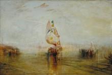 «Венецианское солнце», уходящее в море - Тернер, Джозеф Мэллорд Уильям