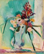 Натюрморт с цветами - Матисс, Анри