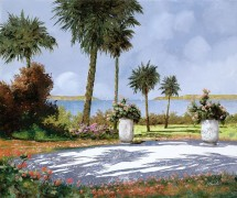 Сад с пальмами - Борелли, Гвидо (20 век)