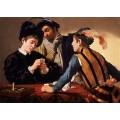 Игроки в карты (Шулеры) - Караваджо, Микеланджело Меризи да