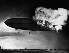 """Взрыв дирижабля """"Гинденбург"""""""