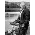 Портрет лауреата Нобелевской премии Конрад Лоренц