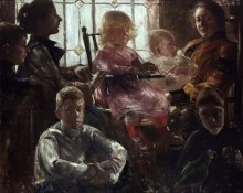 Семья художника Фрица Румпфа - Коринт, Ловис