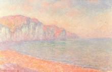 Скалы в Пурвиле, Ле Матен - Моне, Клод