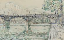 Мост искусств, 1925 - Синьяк, Поль