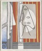 Фигура в профиль - Пикассо, Пабло