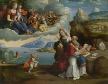 Видение святого Августина -  Гарофало (Тизи, Бенвенуто)