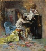 Дама за пианино - Болдини, Джованни