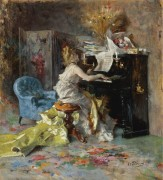 Дама за пианино - Больдини, Джованни