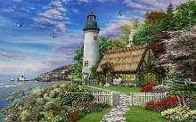 Старинный дом и маяк у моря - Девисон, Доминик