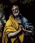 Раскаяние святого Петра - Греко, Эль