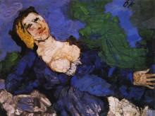 Женщина в синем - Кокошка, Оскар