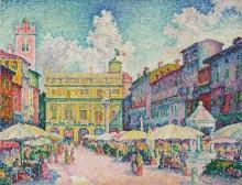 Рынок в Вероне - Синьяк, Поль
