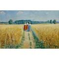 Три женщины на дороге - Малевич, Казимир