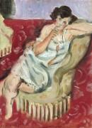 Женщина в кресле - Матисс, Анри