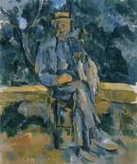 Портрет крестьянина - Сезанн, Поль