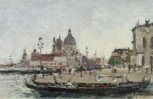 Венеция,п риветствие, 1895 - Будэн, Эжен