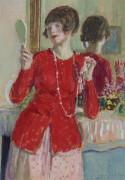 Женщина  и зеркало - Фризек, Фредерик Карл