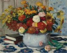 Ваза с цветами - Андре, Альберт