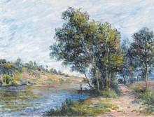 Дорога к Вено и склону холма, 1881 - Сислей, Альфред