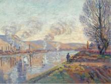 Сена в Руане, 1890 - Гийомен, Арманд