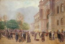 Выставка во Дворце промышленности - Беро, Жан