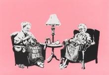 Бабушки - Бэнкси