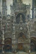 Кафедральный собор в Руане, сумерки - Моне, Клод