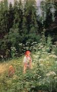 Девочка среди диких трав - Шишкин, Иван Иванович